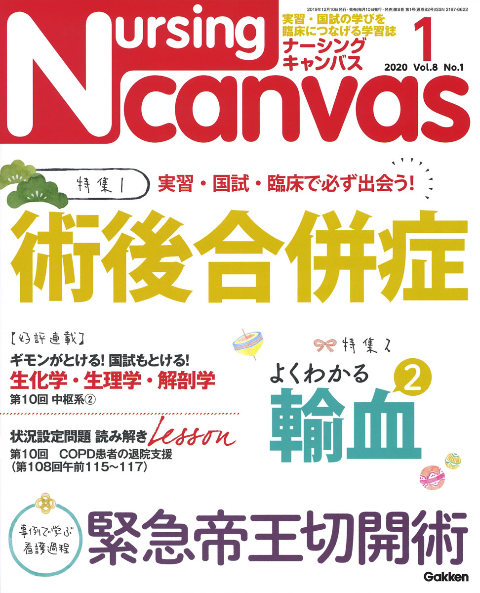 『Nursing Canvas2020年1月号Vol.8No.1』