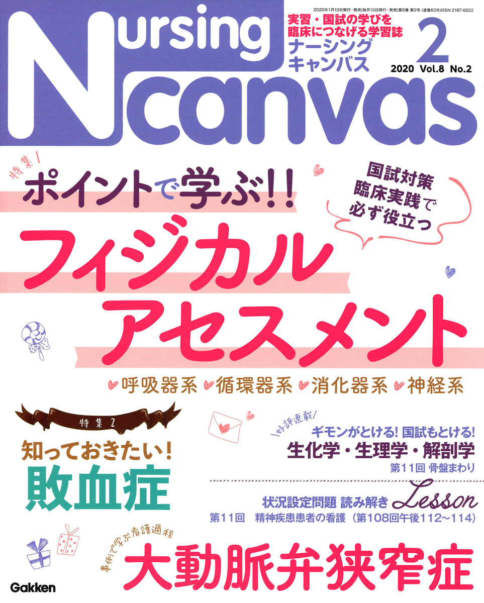 『Nursing Canvas2020年2月号Vol.8No.2』