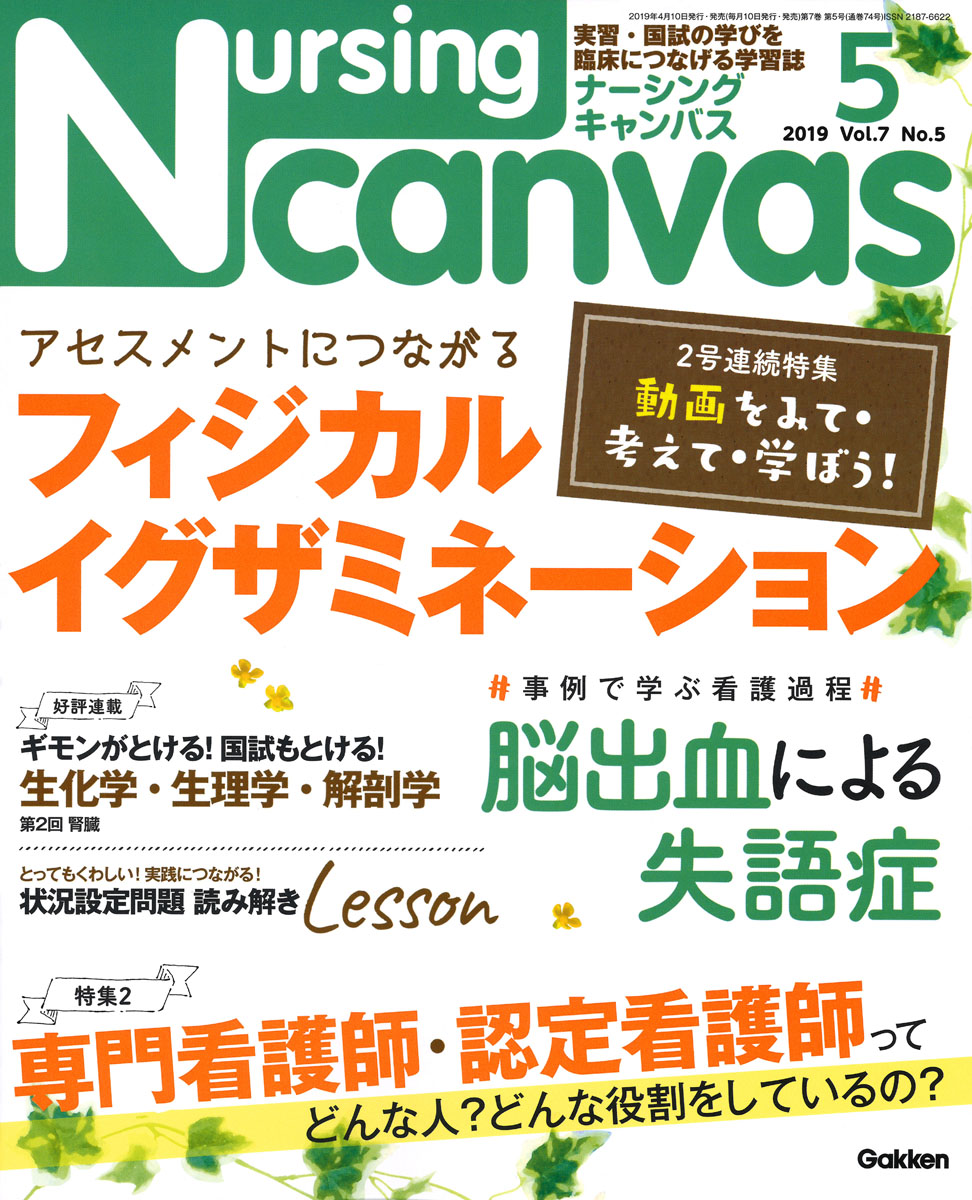 『Nursing Canvas2019年5月号Vol.7No.5』