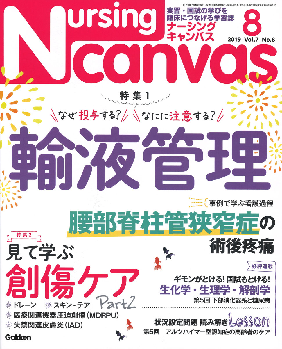 『Nursing Canvas2019年8月号Vol.7No.8』