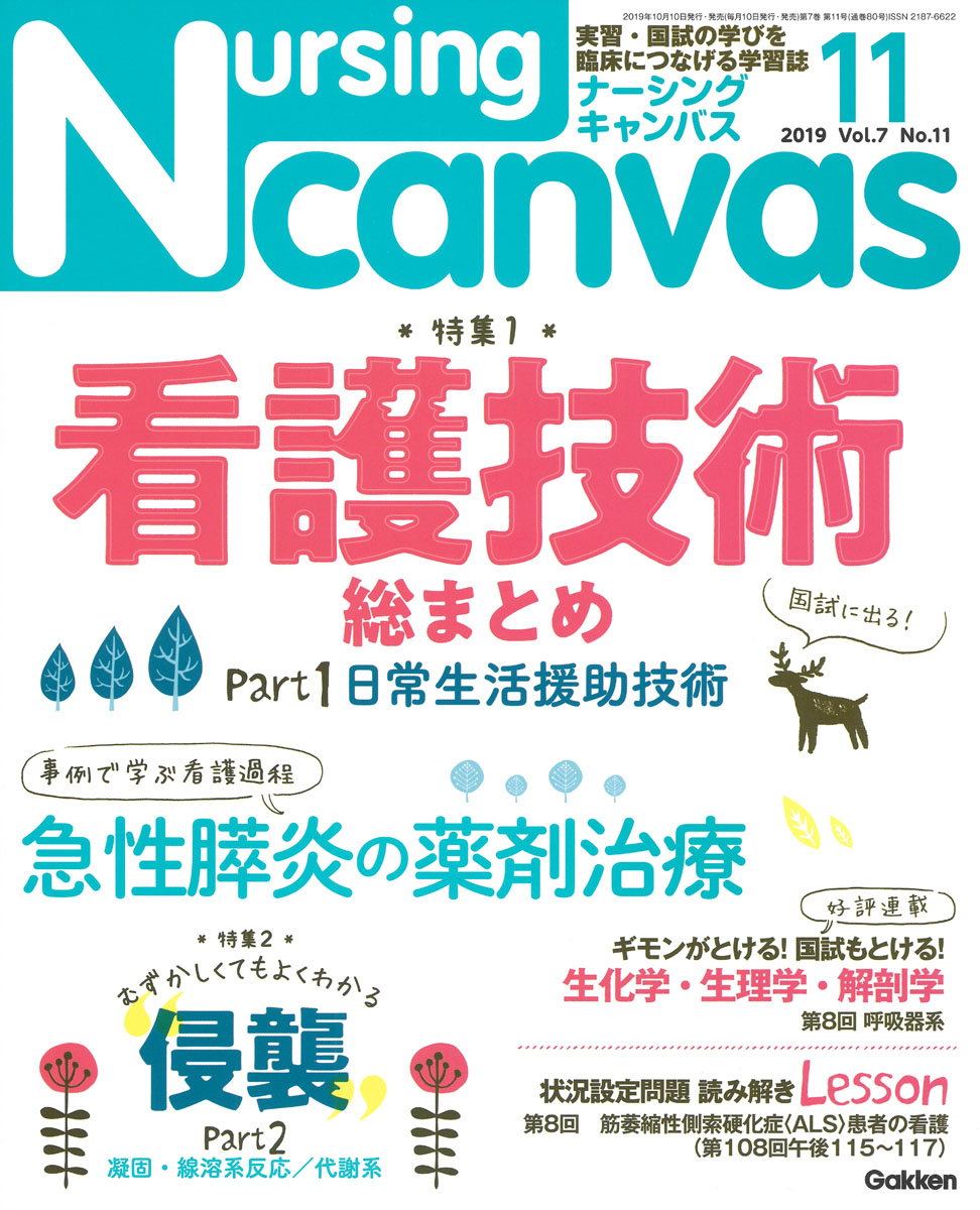 『Nursing Canvas2019年11月号Vol.7No.11』