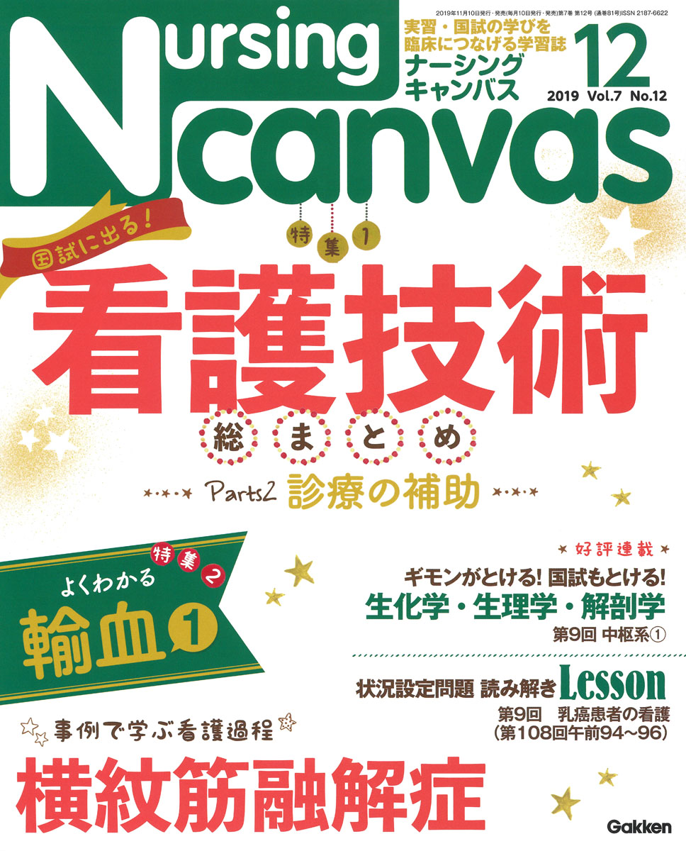 『Nursing Canvas2019年12月号Vol.7No.12』