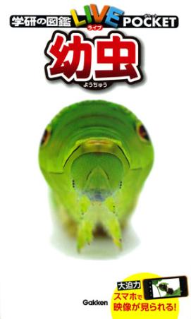 学研の図鑑LIVEポケット 幼虫