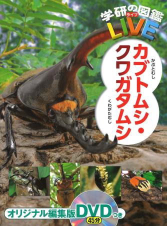 学研の図鑑LIVE(ライブ) カブトムシ・クワガタムシ