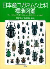 ほんとのおおきさ 日本産コガネムシ上科標準図鑑